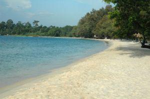Sinoukville beach
