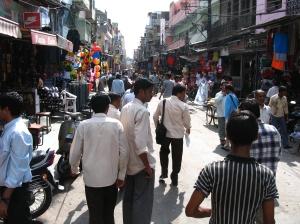 Street in Delhi