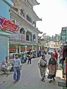 McLeod Ganj main street